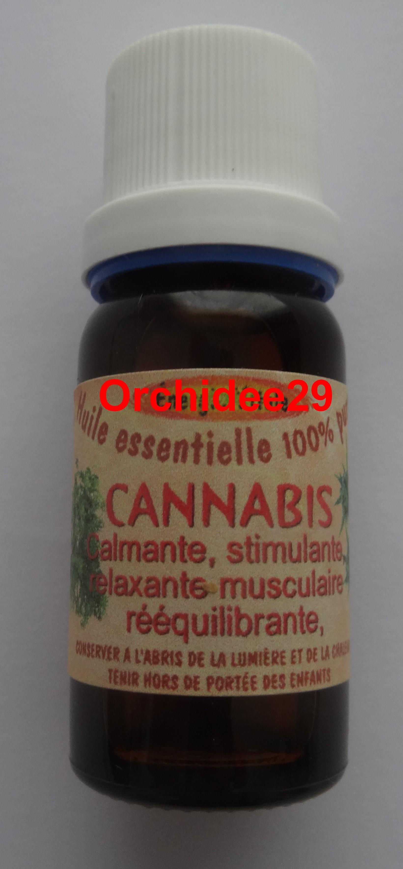 Huile essentielle cannabis essence parfum 10 ml calmante orchidee29 compl ments alimentaires - Essence de terebenthine utilisation ...